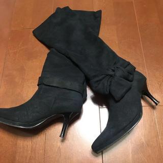 サルース(salus)のサルースsalusロングブーツ サイズ35(ブーツ)