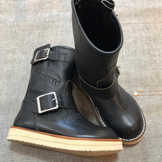 HYSTERIC MINI - ヒスミニ 牛革ブーツ