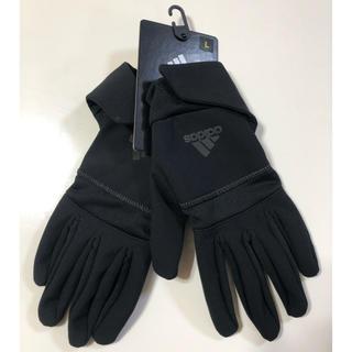 アディダス(adidas)の新品アディダス手袋 メンズ Lサイズ(手袋)