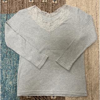 イッカ(ikka)の【値下げ】ikka レース ロンT (Tシャツ(長袖/七分))