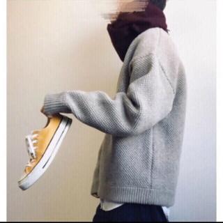 crepuscule クレプスキュール ウール鹿の子ニット 定価 ¥28600(ニット/セーター)