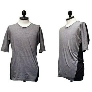 リップヴァンウィンクル(ripvanwinkle)のr rip vanwinkle 16SS バイカラー ドルマンスリーブTシャツ(Tシャツ/カットソー(半袖/袖なし))