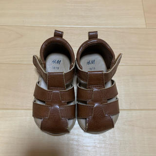 エイチアンドエム(H&M)の子供靴 ベビーシューズ 18/19(12㎝)(その他)