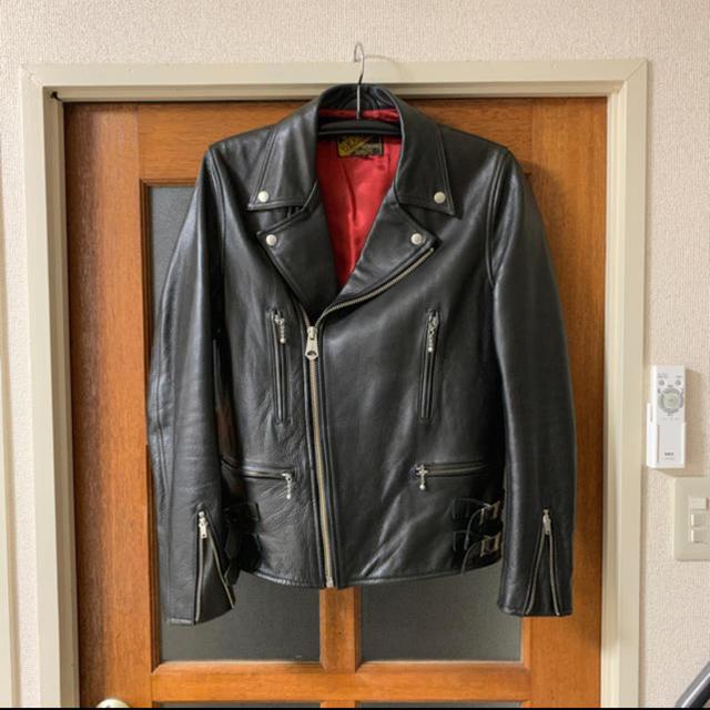 Lewis Leathers(ルイスレザー)の■Y2leather■牛革 ライダース メンズのジャケット/アウター(ライダースジャケット)の商品写真