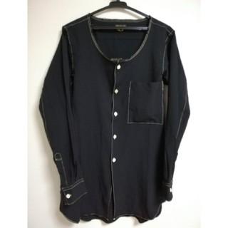コムデギャルソンオムプリュス(COMME des GARCONS HOMME PLUS)の新品未使用 プリュス ポリ縮絨シャツ ブラック コムデギャルソンオムプリュス(シャツ)