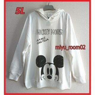 ミッキーマウス(ミッキーマウス)の【サクラ様☆専用】Disney ミッキー パーカー☆5L(パーカー)