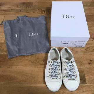 クリスチャンディオール(Christian Dior)のhana様専用 Dior スニーカー ホワイト 白 34(スニーカー)