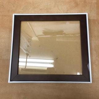 額縁 ブラウン 28.5×31cm(写真額縁)