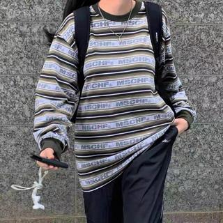 スタイルナンダ(STYLENANDA)のmschf ロングTシャツ(Tシャツ/カットソー(七分/長袖))