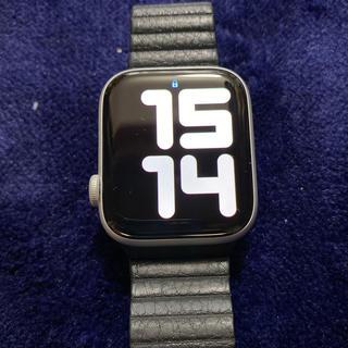 アップルウォッチ(Apple Watch)のApplewatch series4 GPS モデル アルミケース(腕時計(デジタル))