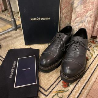 ミハラヤスヒロ(MIHARAYASUHIRO)の美品 MIHARA YASUHIRO ミハラヤスヒロ ドレスシューズ  革靴(ドレス/ビジネス)