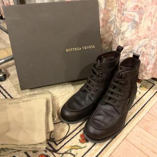 ボッテガヴェネタ(Bottega Veneta)の美品 BOTTEGA VENETA ボッテガヴェネタ レースアップブーツ(ブーツ)