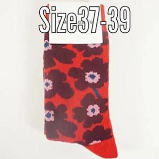 marimekko - マリメッコ ウール靴下 37-39