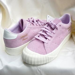 アディダス(adidas)の新品◆25cm アディダス エブリンEVERYN Wピンクスニーカー(スニーカー)