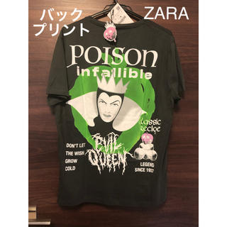 ZARA - 未使用タグ付 白雪姫 女王 Tシャツ ZARA ディズニー ザラ ヴィランズ