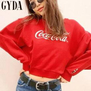GYDA - GYDA❤️コカコーラコラボ トップス Red
