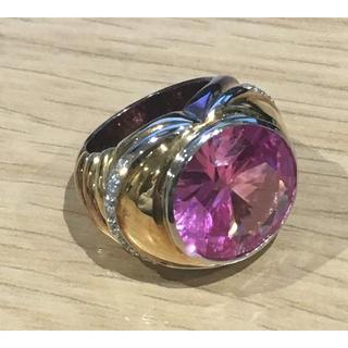 ダイヤ ピンク石 K18 リング(93016065)(リング(指輪))