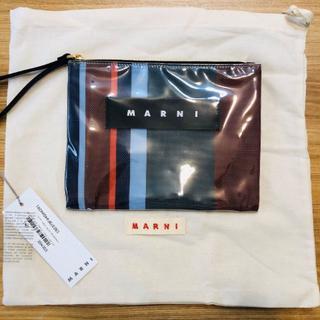 マルニ(Marni)のMARNI クラッチバッグ ポーチ グロッシー グリップ マルニ bag トート(クラッチバッグ)