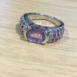 紫石付 シルバーリング(93016373)(リング(指輪))