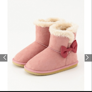 エニィファム(anyFAM)の新品タグ付き☆ エニィファム ブーツ 18 ピンク(ブーツ)
