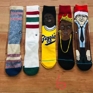ヴァンズ(VANS)の新品 5足組セット stance socks スタンス ソックス 靴下 6(ソックス)
