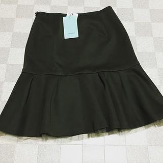 アクアガール(aquagirl)のアクアガール★新品★チュールインナー付きスカート(ひざ丈スカート)