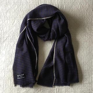 ヤエカ(YAECA)の専用*Arts&science 繊細な極細ウール糸を織った温かみあるストール(マフラー/ショール)