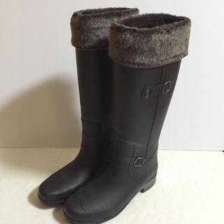 ヌォーボ(Nuovo)のヌォーボ♡ファー付きレインブーツ(レインブーツ/長靴)