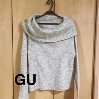 ジーユー(GU)のトップス(ニット/セーター)