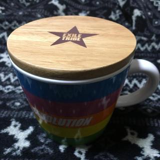 エグザイル トライブ(EXILE TRIBE)のEXILETRIBE 蓋付きマグカップ(グラス/カップ)