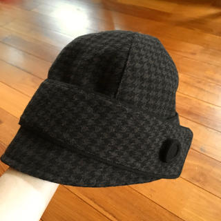 ユナイテッドアローズ(UNITED ARROWS)のユナイテッドアローズ◆ウール混  千鳥格子 帽子(ハンチング/ベレー帽)