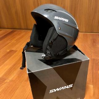 スワンズ(SWANS)のキッズ スキーヘルメット  52-58cm(その他)