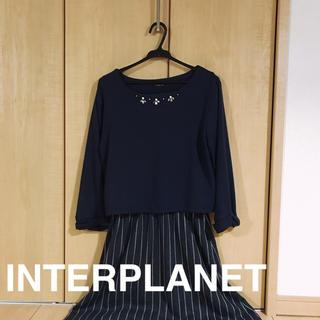 インタープラネット(INTERPLANET)のワンピース(ひざ丈ワンピース)