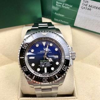 PATEK PHILIPPE - シードゥエラー ディープシー Dブルー メンズ 腕時計