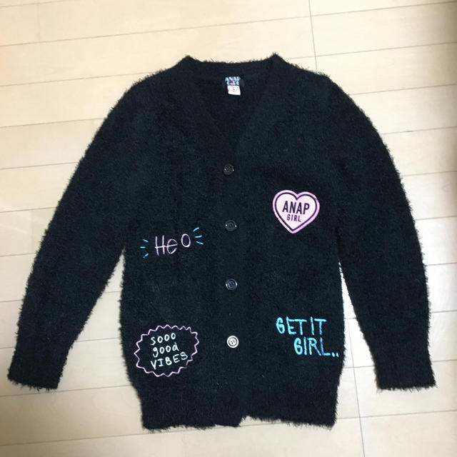ANAP(アナップ)のアナップガールSサイズ キッズ/ベビー/マタニティのキッズ服女の子用(90cm~)(ジャケット/上着)の商品写真