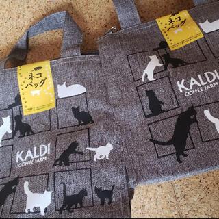カルディ(KALDI)のみぃさん、専用 カルディ ネコの日 バッグ 2個セット(トートバッグ)