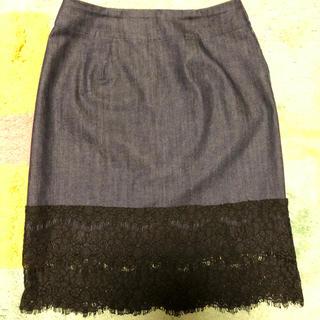 フレームワーク(FRAMeWORK)のデニムスカート(ひざ丈スカート)