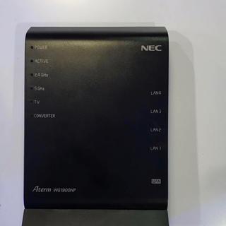 エヌイーシー(NEC)のNEC 無線LANルーター PA-WG1900HP Aterm Wi-Fi(その他)