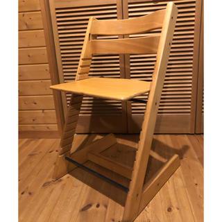 ストッケ トリップトラップ stokke 椅子 ナチュラル b(その他)
