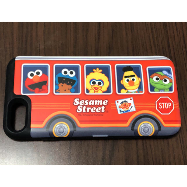 SESAME STREET(セサミストリート)のセサミストリートのiPhone8ケース スマホ/家電/カメラのスマホアクセサリー(iPhoneケース)の商品写真