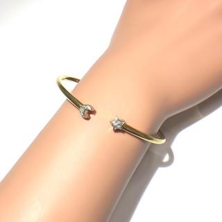 スタージュエリー(STAR JEWELRY)のスタージュエリー  starjewelry ブレス バングル k18 pt900(ブレスレット/バングル)
