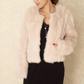 リエンダ(rienda)のラビットファージャケットコート(毛皮/ファーコート)