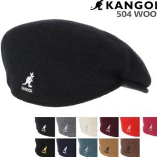 カンゴール(KANGOL)のカンゴール ハンチング ウール 504KANGOL WOOL HUNTING(ハンチング/ベレー帽)