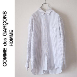 コムデギャルソンオムプリュス(COMME des GARCONS HOMME PLUS)のCOMME des GARÇONS HOMME オーバーサイズストライプシャツ(シャツ)