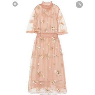 リリーブラウン(Lily Brown)のlily brown ドレス(ロングドレス)