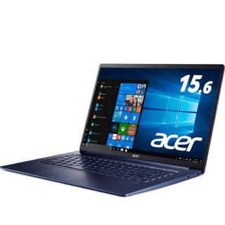 エイサー(Acer)のAcerノートパソコン Swift5/軽さ990g/薄さ15.9mm/15.6型(ノートPC)