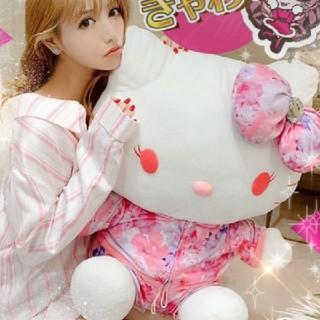 レディー(Rady)のキティちゃん 巨大ぬいぐるみ トロピカルフラワー(ぬいぐるみ/人形)