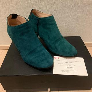 レペット(repetto)のrepetto レペットのスエードショートブーツ 定価5万6千円 37 美品(ブーツ)