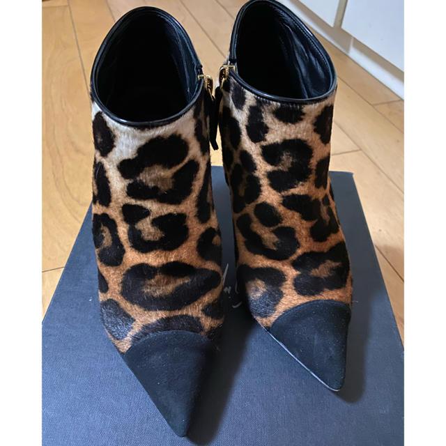 GIUZEPPE ZANOTTI(ジュゼッペザノッティ)のジュゼッペザノッティショートブーツ レディースの靴/シューズ(ブーツ)の商品写真