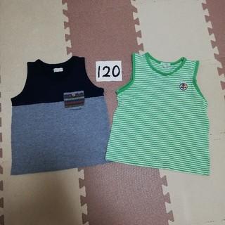 サンカンシオン(3can4on)の2枚セット タンクトップ  (Tシャツ/カットソー)